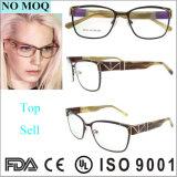Spätestes Modell Unsex rostfreien Brille-Rahmen mit Metallverzierung