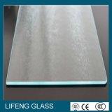 Glace souillée plate de murs en verre de douche de salle de bains d'écran en soie pour la pièce de douche
