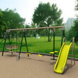 Childrenのための娯楽Park Commercial Outdoor Playground Equipment