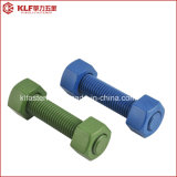 PTFE A193 B7 Stud Bolt con Heavy Hex Nut