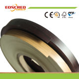 Borda de borda elevada do PVC da cor da grão do lustro ou da madeira para a placa