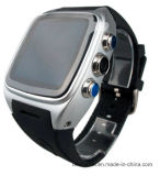 Relógio esperto Android do telefone impermeável do GPS WiFi 3G