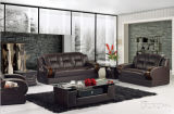 Sofa moderno Home Furniture con Genuine Leather Sofa
