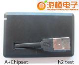 Reales Kapazitäts-Kreditkarte USB-Blinken-Laufwerk (OM-P502)