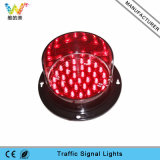 Kundenspezifische Form PC 100mm rote LED Ampel-Teile