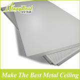 Azulejos de aluminio impermeables del techo 600X1200 para la oficina