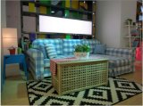 L base di sofà del tessuto di figura per uso della Camera (SB010)