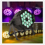 Wall Washer Stage DJ Decoration 18PCS Rgbaw Aliminum LED PAR64