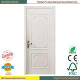 Weiße Tür-Fenster-Tür PVCmdf-Holz-Tür