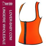 Maglia termica d'aumento di sport di modo del sudore delle donne (L42659-2)