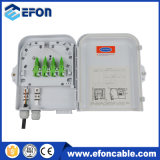 8CORE impermeable de fibra óptica caja de terminales con divisor 1: 8