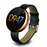 reloj elegante de la pantalla redonda 1.22inch con un 360° Superficie combada