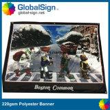 上海Globalsign熱い販売の昇華によって印刷されるポリエステル旗(DSP06)