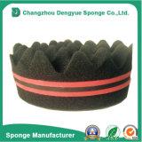Doppia spugna laterale di torsione della spazzola di capelli dei fori dell'onda