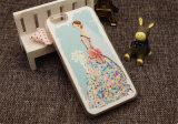 Bling покрасило iPhone аргументы за сотового телефона Princess быстро песка TPU/Samsung/LG/Moto