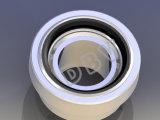 API Kogelkleppen van het Staal van Ce de Gietende Van een flens voorzien CF3m