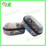 Caixa de couro macia do plutônio Eyewear da alta qualidade (GC001)