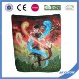 Farbenreiches Drucken-Polyester-polare Vlies-Decke 100% (SSB0209)