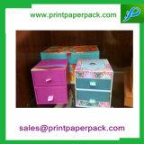Custom Cardboard Drawer Gift Box & Bag Storage Boîte à bijoux Boîte à bijoux cosmétique Boîte cadeau