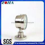 Todos os calibres de pressão de diafragma Ss com óleo cheio