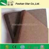 Placa da fachada do revestimento do cimento da fibra--Material de construção à prova de fogo