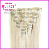 새로운 Arrival Best Selling Factory Wholesale Price Tangle 없음 Hair Extension에 있는 Shedding PU 없음 Skin Weft Clip