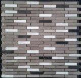 Mischfarben-Stein-Mosaik für Fernsehapparat Backgrond (FYSSC240)