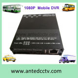 GPS Tracking 3G 4G WiFiの1080P 4 Channel Mobile DVR SD Card Video Recorder