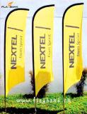 bandierina personalizzata esterna della piuma di stampa di 2.8m Digitahi/bandierina di spiaggia