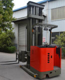 1500kg Load Capacityの非常にNarrow Aisle三方Pallet Stacker