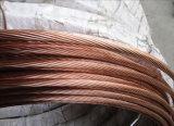 fio folheado 0.28mm de cobre do fio de aço CCS de 0.12mm 0.15mm 0.18mm 0.20mm 0.21mm 0.25mm