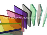 Colourful Laminated Glass의 다른 Thickness
