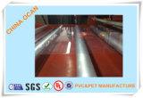 hoja rígida transparente del PVC del PVC de la talla estándar del espesor 3*4 de 0.2m m para la impresión en offset