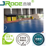 Surfacer d'intérieur sans joint de sport de terrain de basket d'unité centrale de silicium de plancher