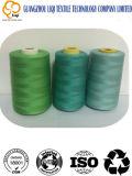 Tissu en fil de couture en polyester poli
