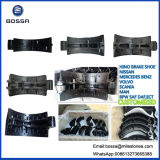 大型トラックのための自動車部品のエンジン部分24の穴のブレーキ片ブレーキプラス