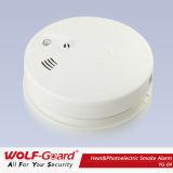 Detetor de fumo do protetor do lobo com alarme de incêndio