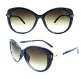 Gafas de sol plásticas de la manera del diseñador a estrenar para las mujeres/señora (DP1221YZ)