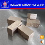 Segment van de Schijf van de Diamant van de fabriek direct het Scherpe voor het Harde Marmer van Mexico