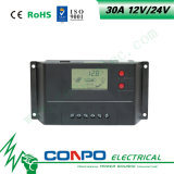 30A, 12V/24V, LCD Slim ZonneControlemechanisme