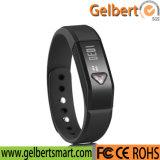 Reloj elegante del podómetro de la pista del sueño del deporte de Gelbert Bluetooth 4.0