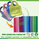 Tela no tejida reutilizable del material del bolso de Spunbond