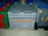 panier solide en plastique de rotation de 1200X1000X760mm, caisse de rotation