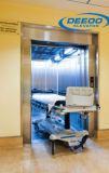 Elevador del hospital de la velocidad 1.0m/S de la capacidad 1600kg
