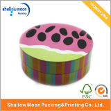 Colorful Kids Cute Round Paper Packing Box (QY150017)