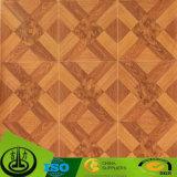 Papel decorativo de la melamina moderna con el grano de madera para la decoración