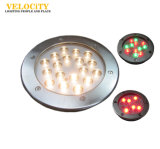 12W / 24W High Brightness IP68 RGB LED Subaquática Multi Color