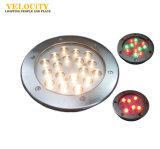 Montado en la pared luz subacuática del LED con el regulador
