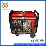 Générateur diesel de pouvoir refroidi à l'air de GB3500dg pour l'usage industriel