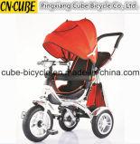 Le promeneur de bébé de bonne qualité badine le tricycle, meilleur vendant le tricycle d'enfants